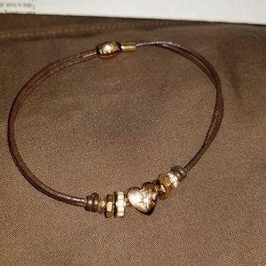 Fossil rosegold heart bracelet